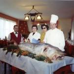 Papà Piren Mamma Enrica la Zia Emila e Guglielmo con il siluro
